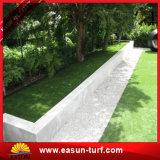 편평한 40mm 4개의 색깔 정원 인공적인 합성 잔디