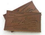 Одежда коричневого оттенка Custom наклейки из натуральной кожи
