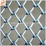 O elo da corrente galvanizado cerca para protegidos