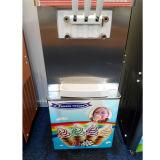 공기 펌프와 발송 전에 인공적으로 냉각 아이스크림 기계장치 있다