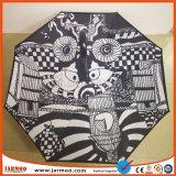 Parapluie estampé polychrome à la mode de promotion