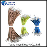 Fil électrique isolé personnalisé par usine et câble matériels de conducteur de type et d'en cuivre