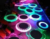 6+3W 9+3W 12+3W 18+6W runde überzogene doppelte Panel-Beleuchtung der Farben-LED