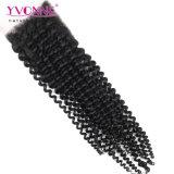 Ивонна оптовой бразильского Virgin Реми человеческого волоса кружево верхней части передней крышки блока цилиндров