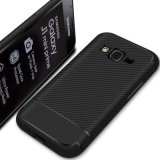 Samsung J1の小型プライム記号のための新しいカーボンファイバーTPUの電話箱