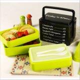 BPA geben Mittagessen-Kasten Bento Kasten mit Gabel und Löffel 20012 frei