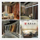Configuration orange de jacquard de modèle à haute teneur de sofa de tissu de créateur célèbre