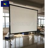 Las pantallas de xy 140 pulgadas de doble cara de plegado rápido proyector con pantalla de proyección frontal y trasera