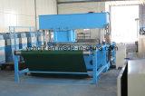 Máquina hidráulica de la prensa de la pista que corta con tintas movible para la esponja del calzado
