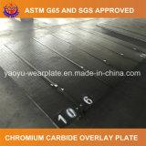 Plaque en acier d'usure de recouvrement de carbure de chrome