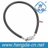 Yh9848 4 Composez la combinaison de vélo Vélo de câble de verrouillage mince de verrouillage