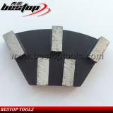 De snelle Malende Plaat van de Diamant van de Verandering voor Concrete Malende Machine Cassani