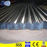 Strato galvanizzato del tetto del metallo/lamiera di acciaio galvanizzata Gi ondulato