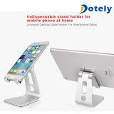 Montagem Desktop do carrinho de alumínio Foldable do telefone móvel para o iPhone, iPad