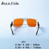 Óculos de proteção de segurança do laser, olho do laser protetor para o equipamento médico do laser, sistemas do laser da beleza, tratamentos Dermatologic do laser
