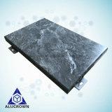 Soem-Wand-Aluminiumpanels mit grauer Farbe PVDF