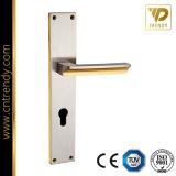 Plaque en alliage de zinc pour la sécurité de la poignée de porte en acier (7026-Z6054)