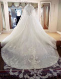 Entwerfer-Hochzeits-Kleid anpassen