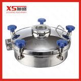 Capa de poço de pressão de forma oval de aço inoxidável Ss304