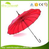 Comercio al por mayor de la Pagoda promocional personalizado paraguas de patio para dama