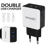 2.4A дважды быстро USB телефона зарядное устройство USB с помощью кабеля USB для iPhone