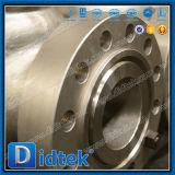 Válvula de verificación de alta presión de oscilación del disco completamente abierto de Didtek