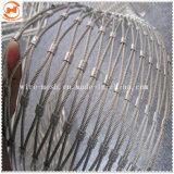 Tejido de malla de cable de acero inoxidable