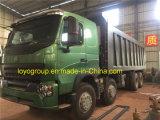 Camion à benne basculante de roue de la Chine HOWO A7 8*4 12 à vendre