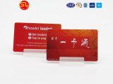 PVC/애완 동물 Magentic 줄무늬 /Laser 표 QA 부호를 가진 오프셋 인쇄 카드