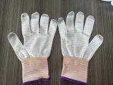 13G antistatischer Merkmal U3 PU-Finger überzogene ESD-Handschuhe
