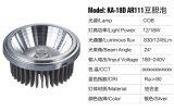 espuma de la bilis de la haba de la taza AR111 LED de la lámpara 12With18W