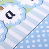 Personalizar el logotipo impreso irregularmente baratos personalizados bolsas de papel