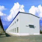 Pollo vertido/taller del acceso de coche/de la estructura de acero de la casa de las mercancías