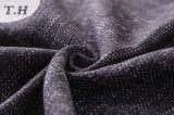 Полиэфир 100% имитировал Linen ткань драпирования для софы
