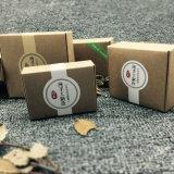 Vakje van het Document van de Zeep van de douane het Vierkante Groene Kleur Afgedrukte Kosmetische Creatieve Verpakkende (JP-papier box122)