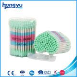 3 '' tampons de coton de bâton de papier de cadeau de longueur dans le petit cadre du coeur pp