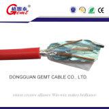 Cable resistente al fuego del aislante del PVC