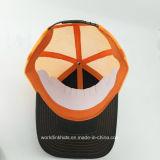 Sombrero del camionero del bordado del algodón/del poliester 3D, casquillo del camionero del acoplamiento del panel de la aduana 5