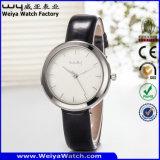 공장 고전적인 석영 형식 숙녀 손목 시계 (Wy-059A)