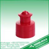 protezione di alluminio della bottiglia di acqua della protezione in opposizione di plastica di 28mm