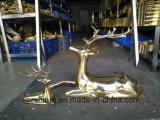 Petits décoration de cuivre verte de sculpture, appropriées à la décoration et au cadeau de bureau d'intérieur