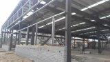 Bajo costo económico y la estructura de acero de taller y cuadrícula proyecto estructural de la estructura de acero