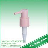 distributeur de lotion de vis de blanc de 33mm pour le liquide