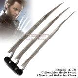 Os homens Wolverine de aço de Swordx do filme de Collectibles agarram 27cm HK8255