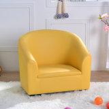 Rosa de la luz de la moda niños sofá con un reposapiés (SF-12)