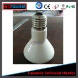 Los calentadores de la bombilla de luz infrarroja de cerámica
