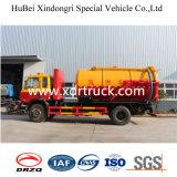 speciale Vrachtwagen van de Vrachtwagen van de Zuiging van de Riolering van 8.5cbm de Speciale