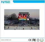 Vidéo de P10 P16 annonçant l'étalage de mur visuel de l'écran DEL de DEL