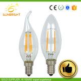 現代水晶天井灯のための熱い販売の高品質LEDのフィラメントか蝋燭の球根ランプ
