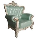 Möbel-angemessene Hotel-Vorhalle-königliches Art-Leder-Sofa China-Ciff (004-3)